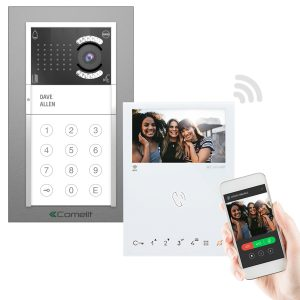 Comelit iKall Video Intercom with Mini Handsfree Wi-fi Monitor