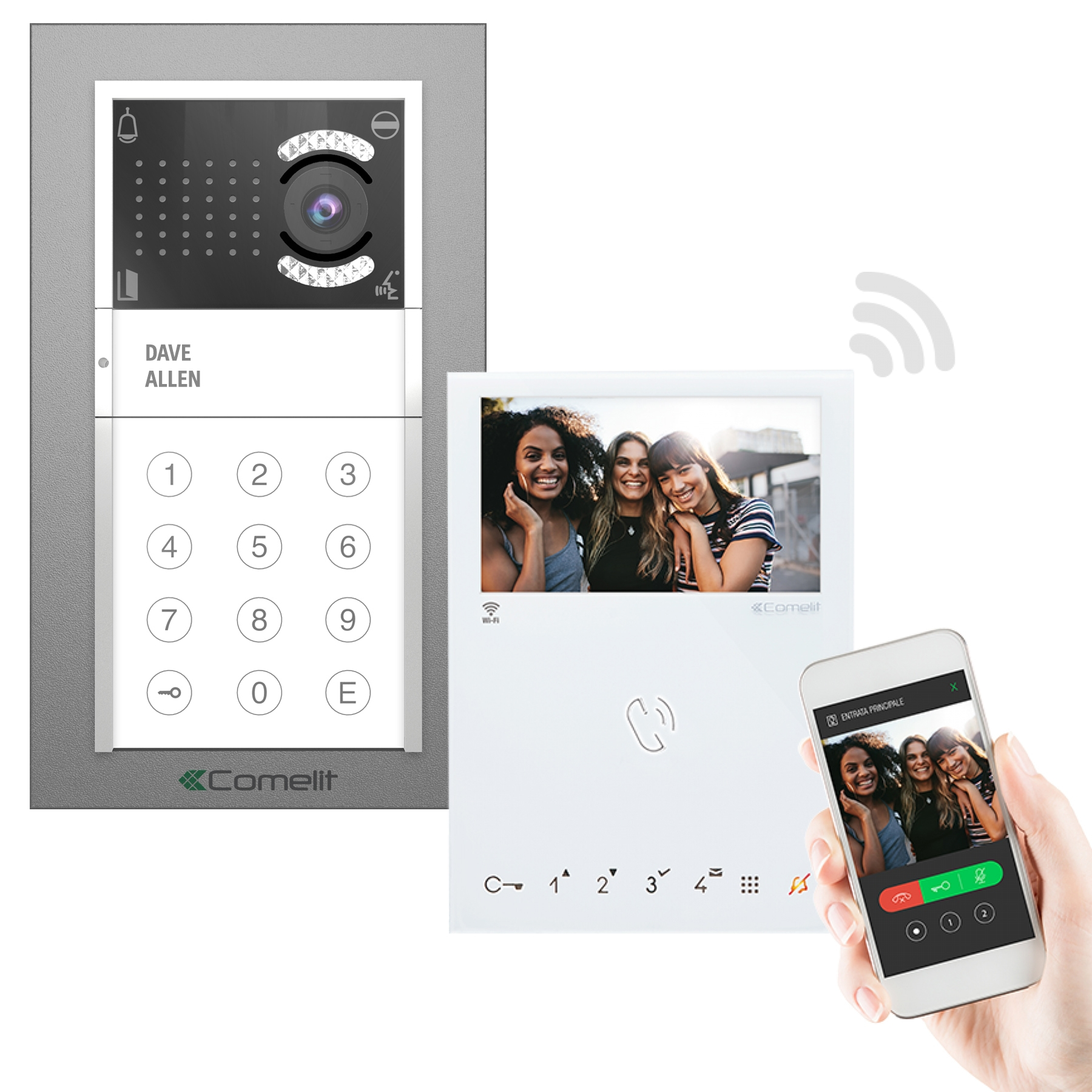 7inch Color Wired Video Door Entry Video Door Phone Intercom System video  Intercom For the Apartments Intercoms 2/3/4/5 Families Video Intercom  -  AliExpress