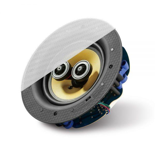 """Lithe Audio LASS65 6.5"""" Stereo Ceiling Speaker"""