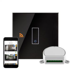 iotty Wi-Fi Smart Dimmer Switch 1G Black