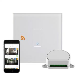 iotty Wi-Fi Smart Dimmer Switch 1G White