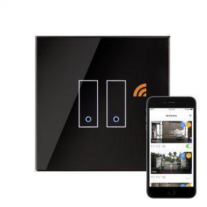 iotty Wi-Fi Smart Switch 2G Black
