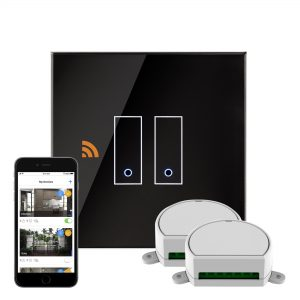 iotty Wi-Fi Smart Dimmer Switch 2G Black