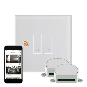 iotty Wi-Fi Smart Dimmer Switch 2G White