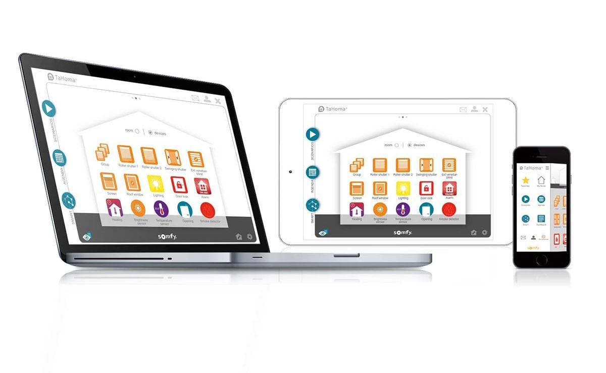 Somfy Smart Home App