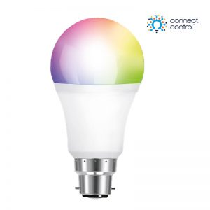 Aurora AOne Connect AU-A1BTGSCWB Bluetooth 8W RGBCX B22 Bayonet GLS LED Lamp