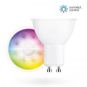 Aurora AOne Connect AU-A1BTGUCW Bluetooth 5W RGBCX GU10 LED Lamp