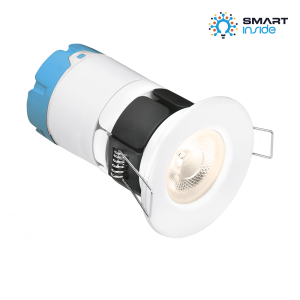 AOne 200-240V 7W IP65 Fixed Dimmable Fire Rated Smart LED Downlight 3000K AU-STZBMPRO1/30