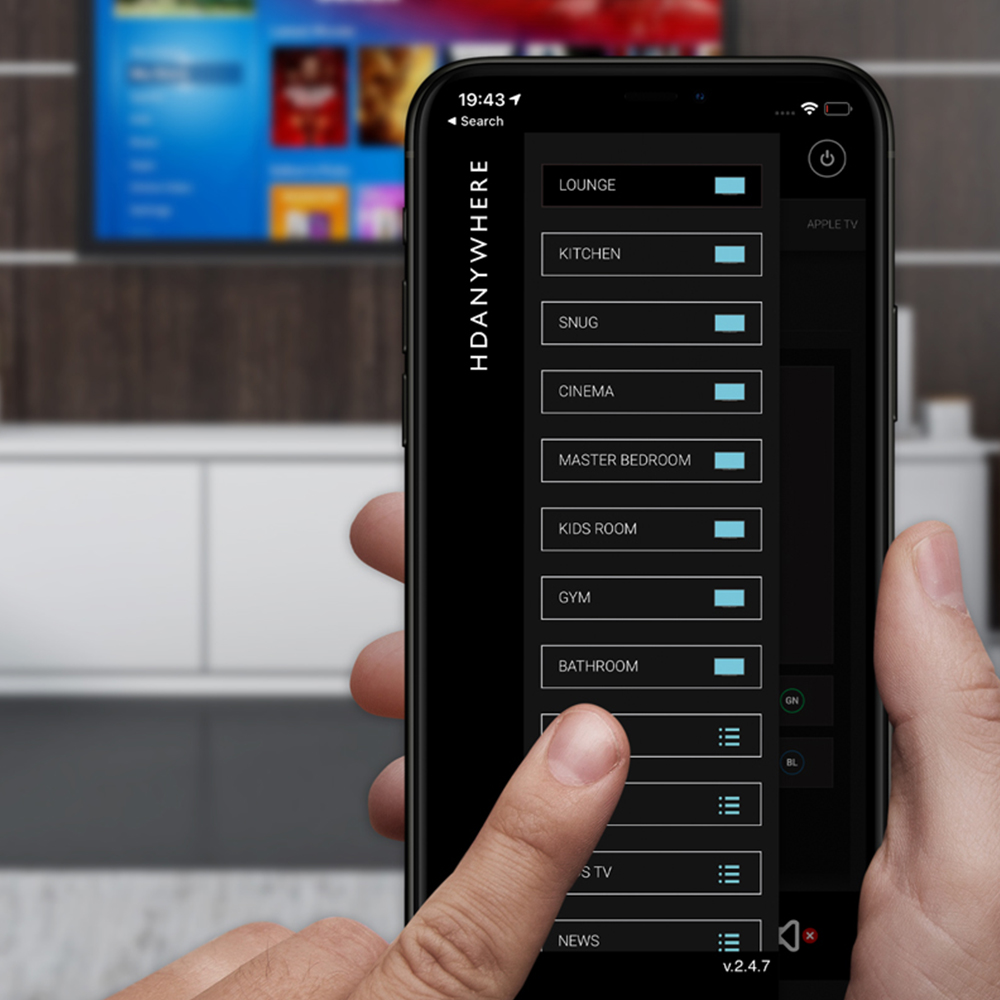 HDANYWHERE Life Image of mobile app