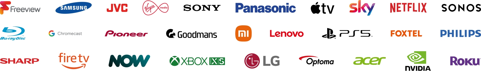 HDANYWHERE Compatible brands