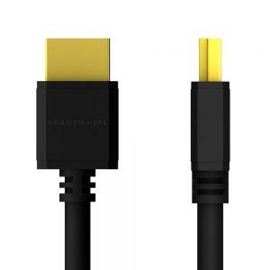 Black HDMI SlimWire MAX Cable
